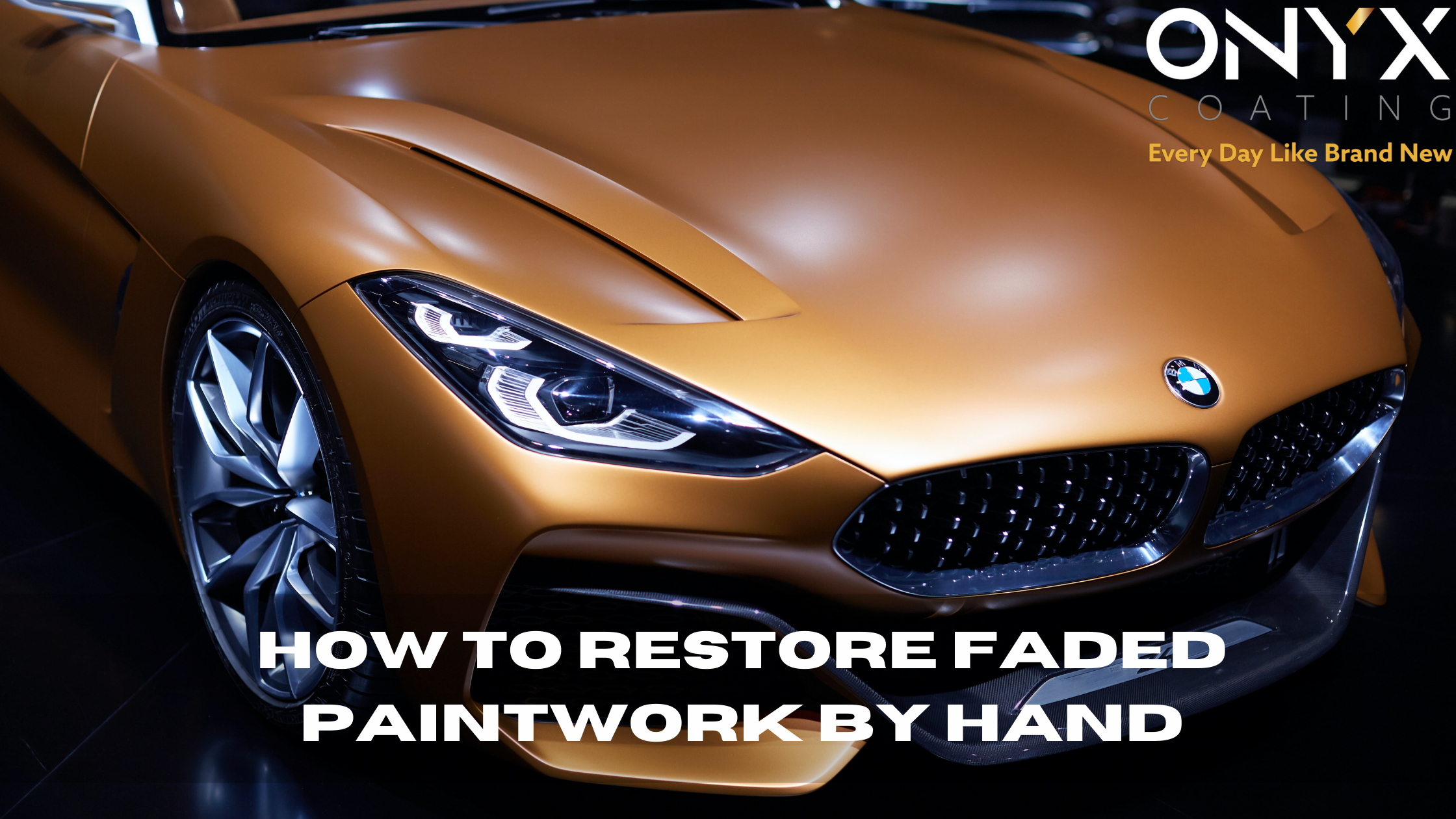 How to restore faded paintwork by hand